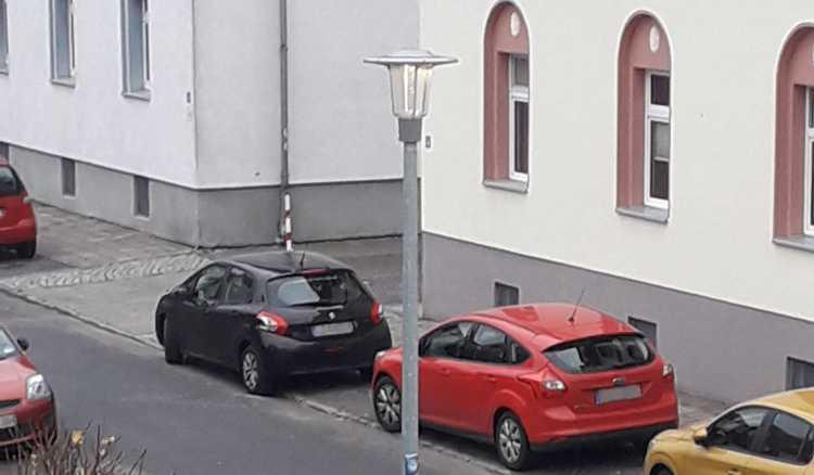 Tageslicht in der Südstraße.