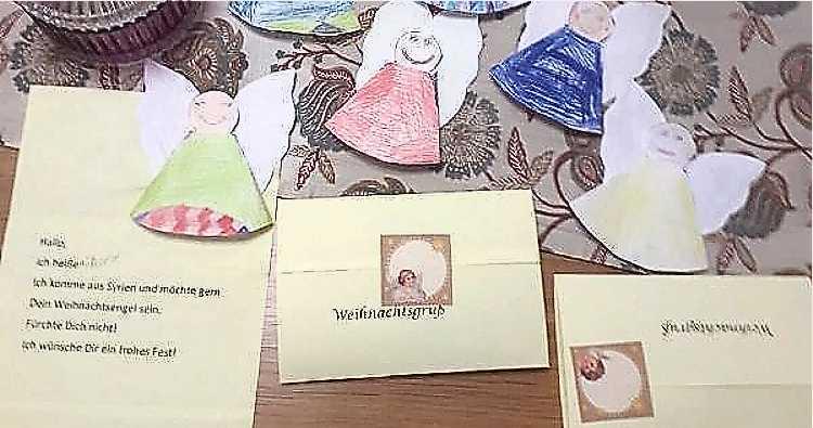 """""""Briefe gegen Einsamkeit"""" soll auch nach Weihnachten weitergehen. Vielleicht beteiligen sich noch mehr Kinder daran?"""