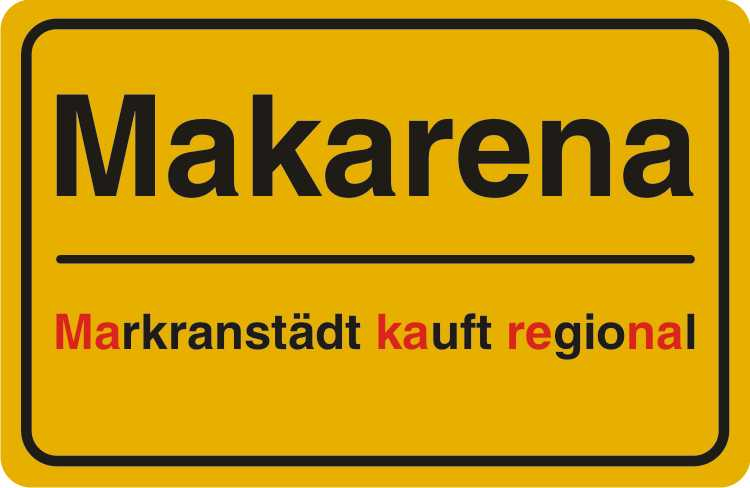 Mensch Makarena! Machen Sie mit und informieren Sie uns, wo Sie in Markranstädt regional bewusst einkaufen.