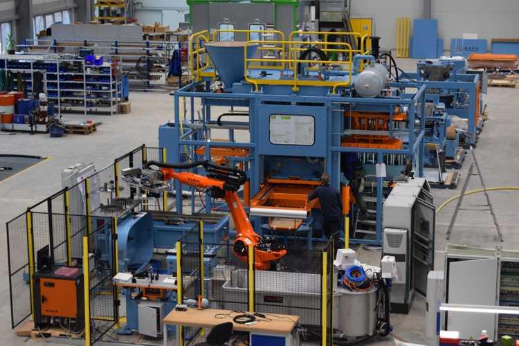 """Die erste Kernschießmaschine """"made in markranstädt"""""""