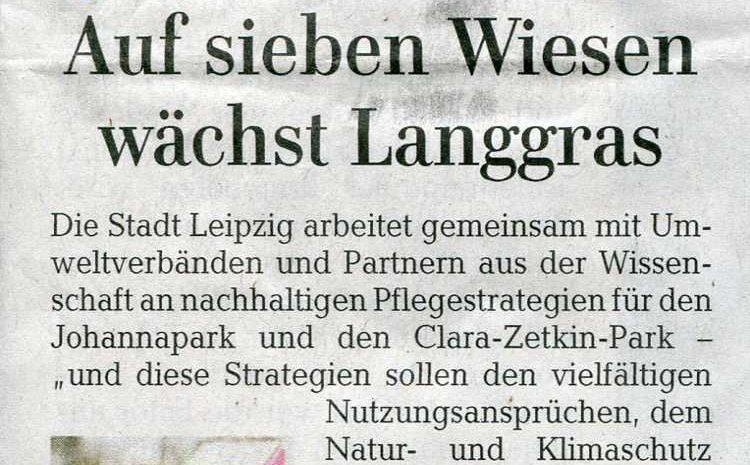 LVZ vom 13. April: Frohe Botschaft nur für Leipzig.