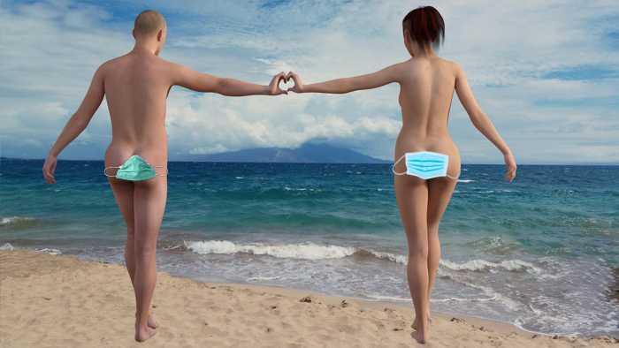 """Safer-Bathing am FKK-Strand: """"Kann ich so gehen?"""""""